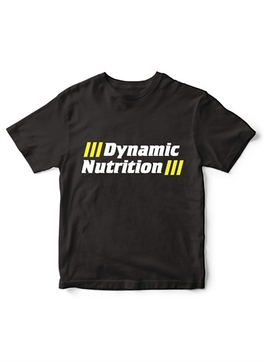 Dynamic Nutrition Tişört Siyah